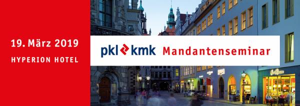 pkl-kmk Mandantenseminar 2019