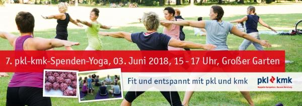 7. pkl-kmk-Spenden-Yoga 2018 - Nachlese
