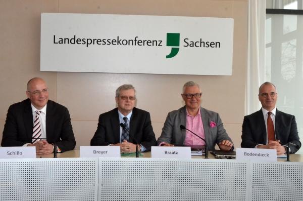 Präsident Hans-Joachim Kraatz des LFB Sachsen präsentiert Wahlprüfsteine