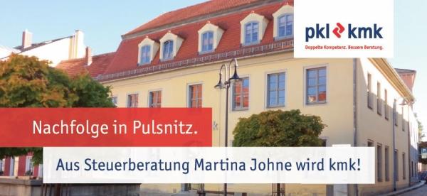 Mit dem Standort am Julius-Kühn-Platz 3 in Pulsnitz gibt es ab 1. Mai 2019 eine neue Niederlassung der kmk